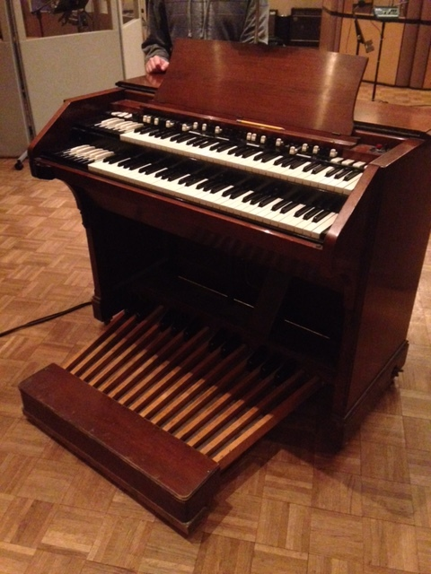 The Hammond C3 (just like a B3 but with a full body instead of legs)