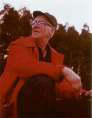 Charlie Mattinen, photo by cousin Don Johnson.