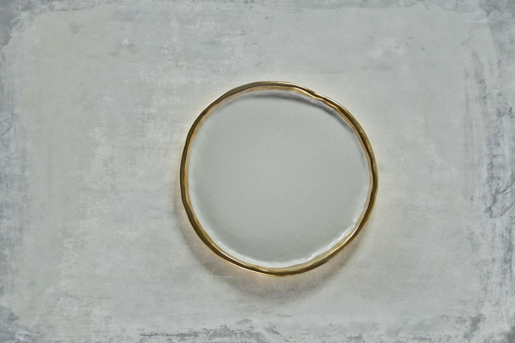 """Montes Doggett 22K Gold """"Plate No. Two Hundred Three"""""""