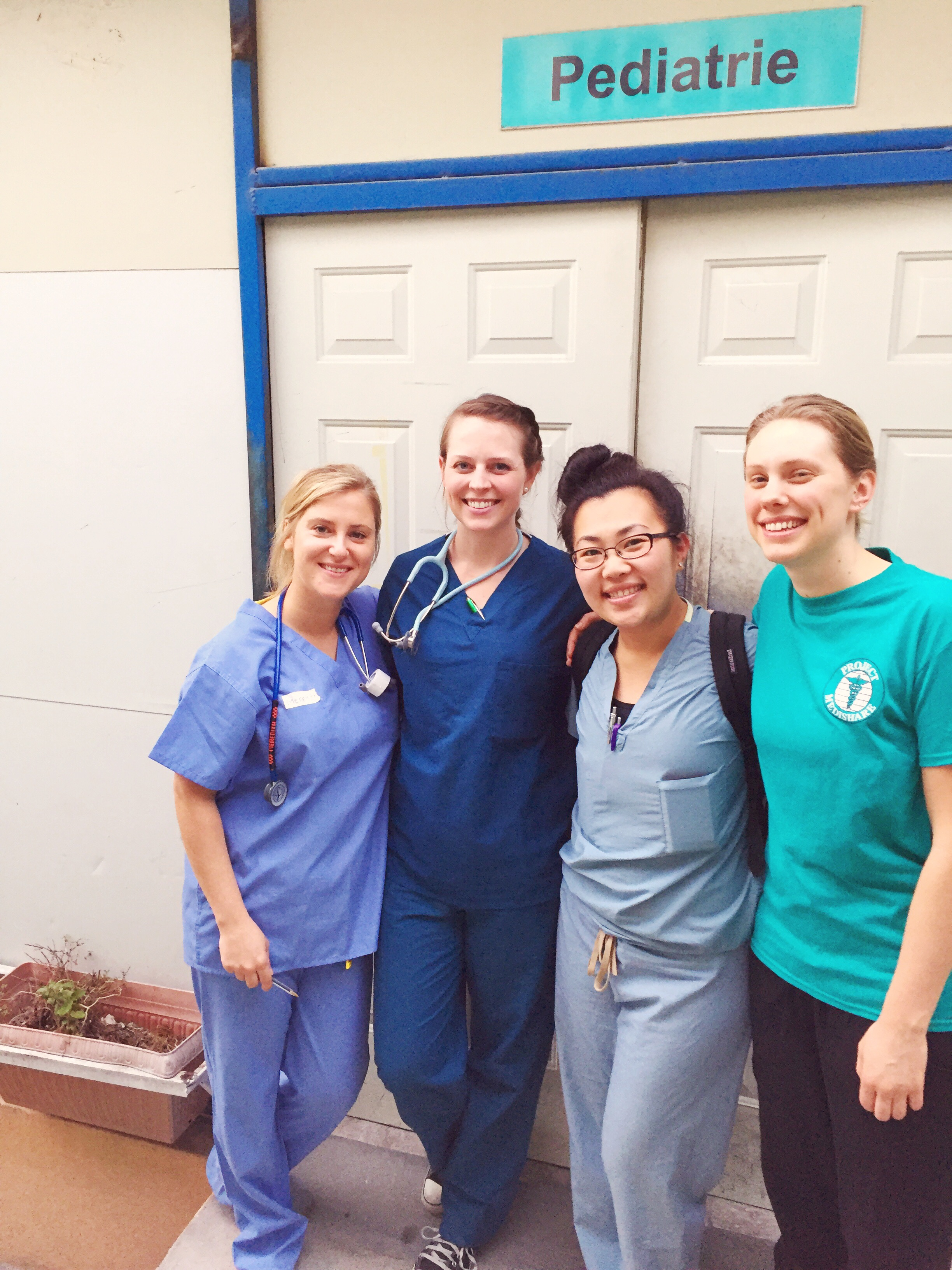 Meredith, Kristin, and Kattie--Peds nurses for the week