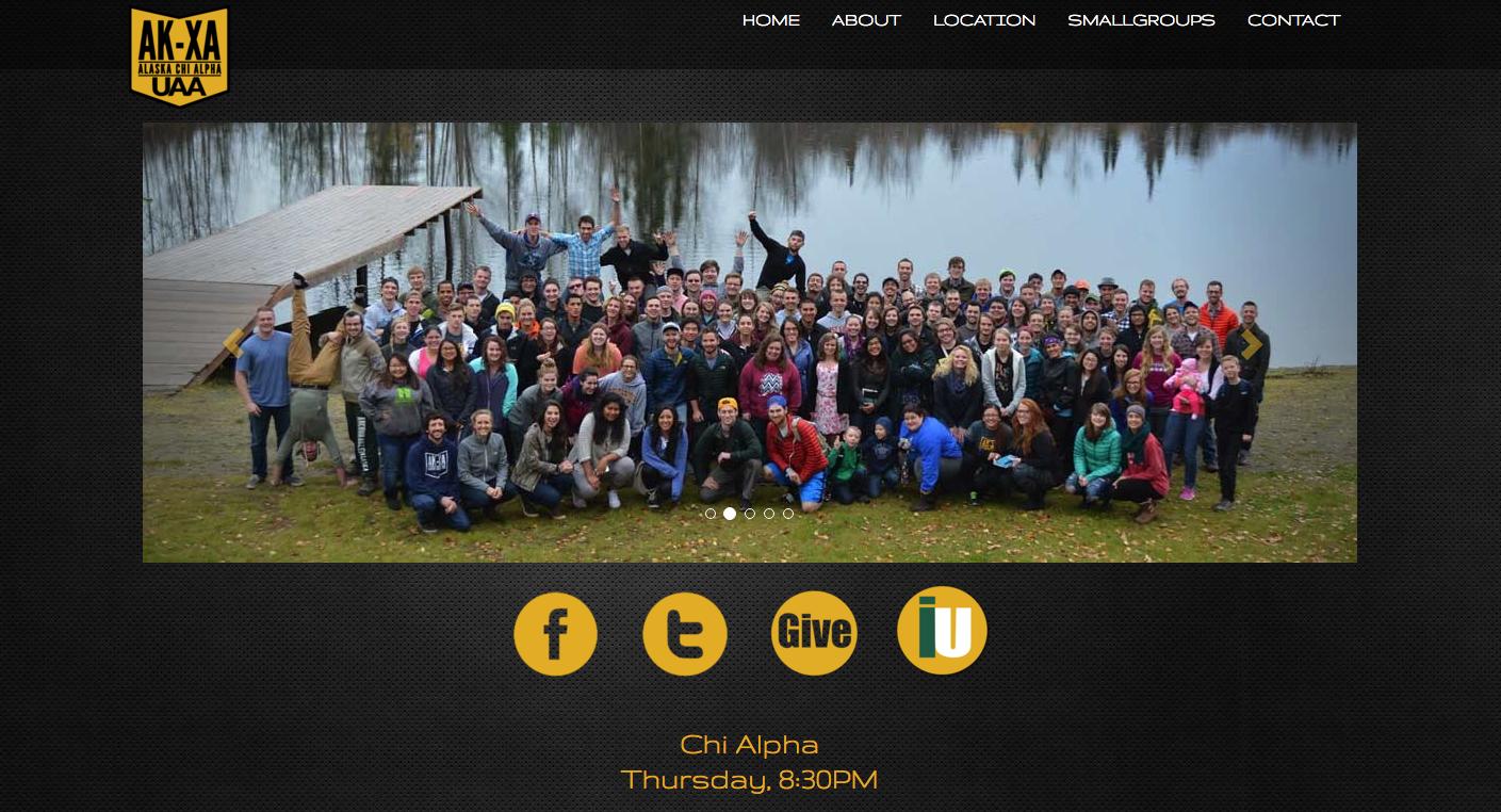 UAA Chi Alpha Website