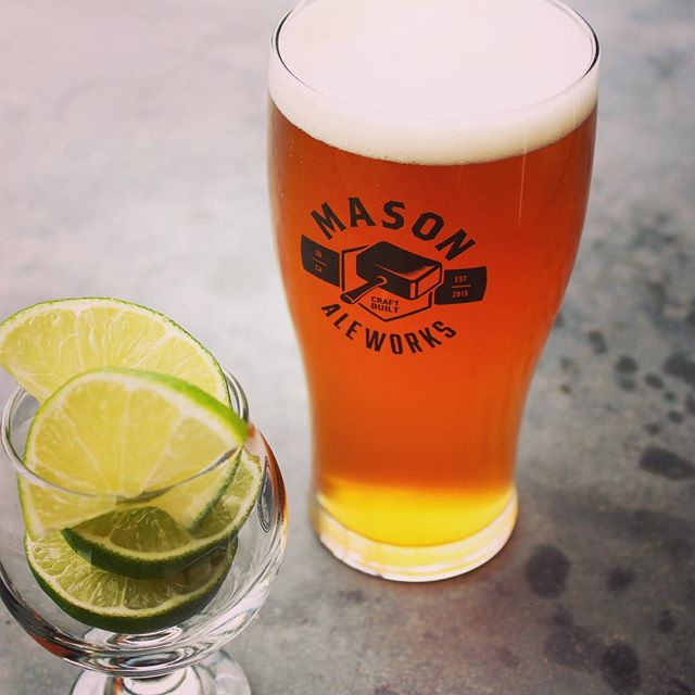 Now on Draft! Respeto Mexican Lager with Lime Zest . This week we took our award winning Mexican Lager and threw in some fresh lime zest, for a citrusy finish to this well balanced Lager. . Come out to @urgecommonhouse to get a taste while you can! . . // @masonaleworks \\