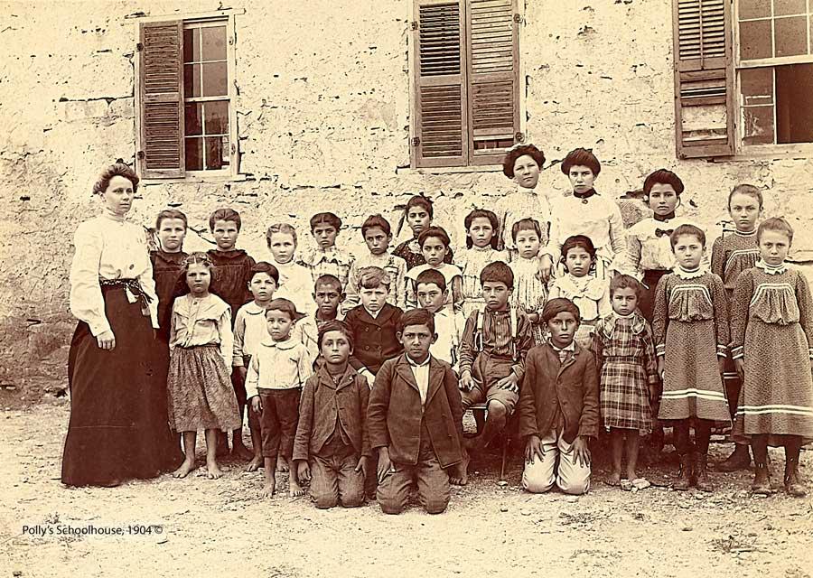 Pollys Schoolhouse 1904