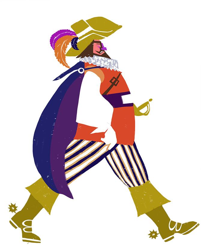 Spanish noble man