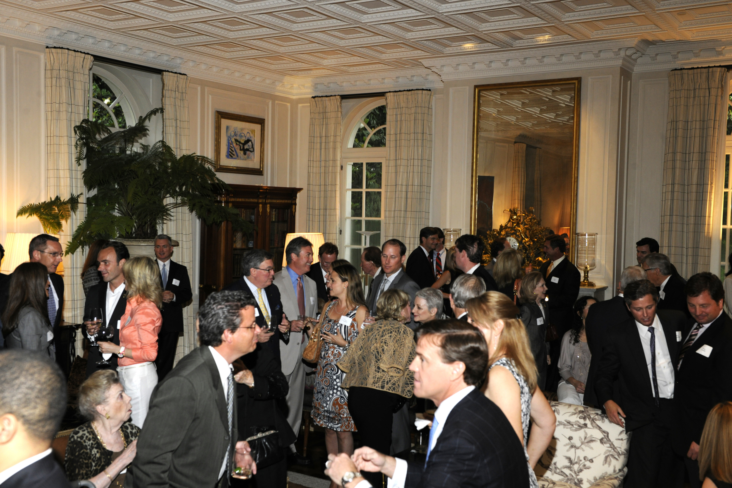 Guests at a Governor Tim Pawlenty Dallas fundraiser in 2011.