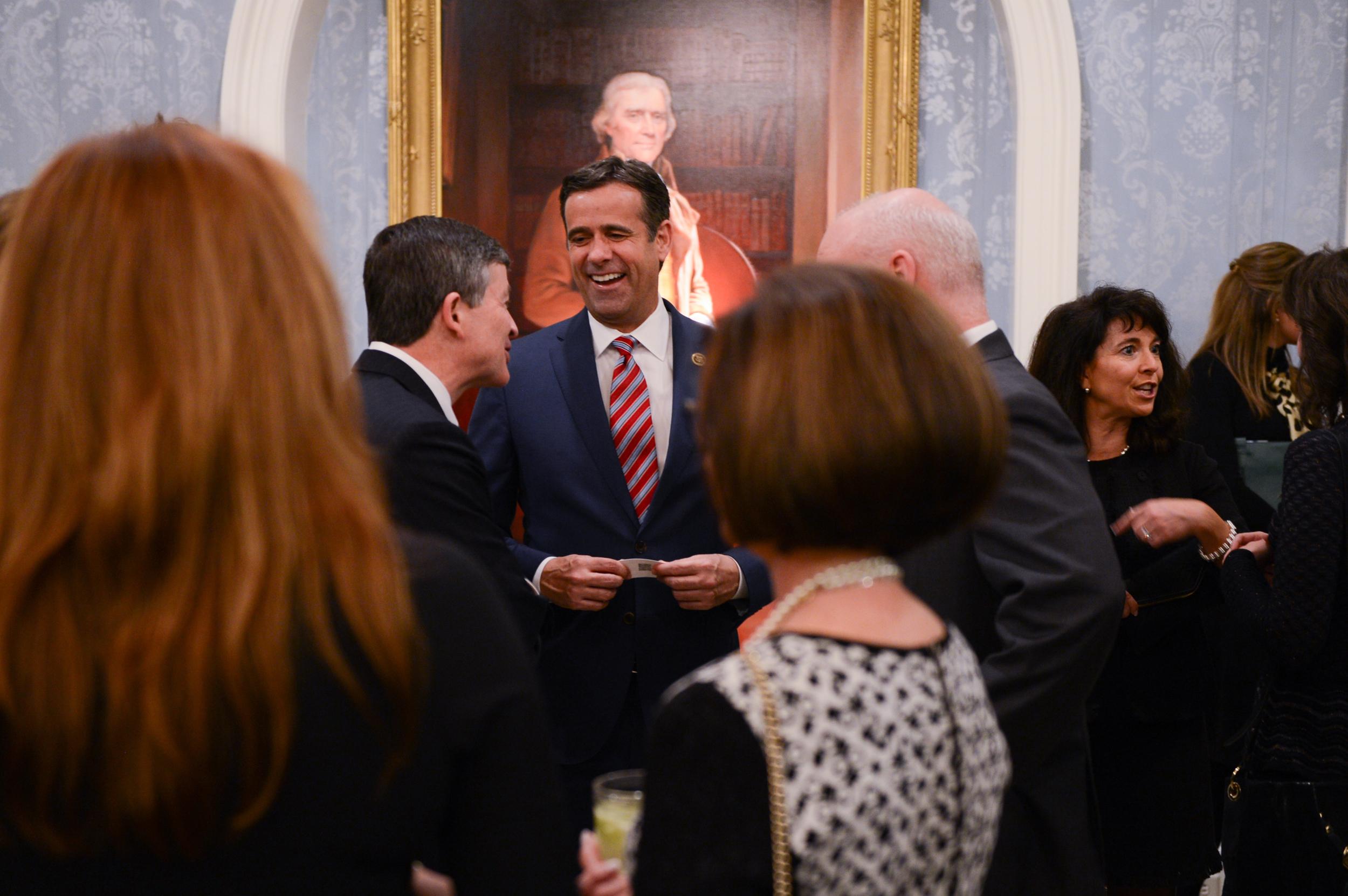 Congressman John Ratcliffe (TX-4) at the Team Ryan North Texas Dinner at Old Parkland in 2016.