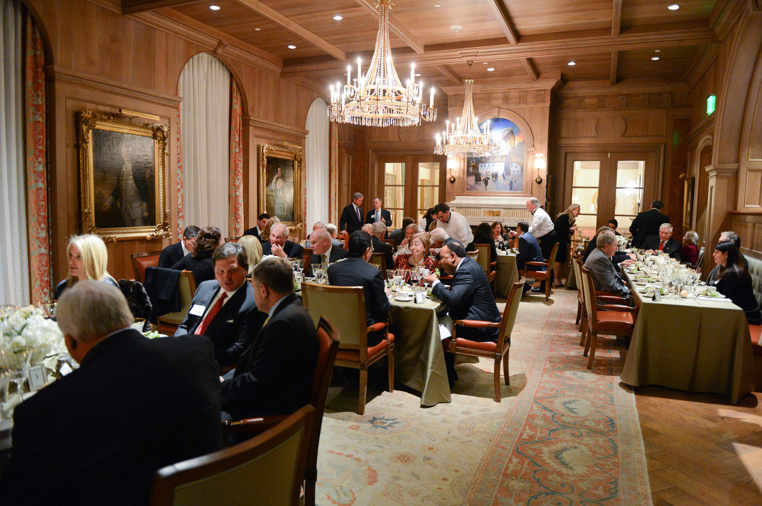 The Team Ryan North Texas Dinner at Old Parkland in January 2016.