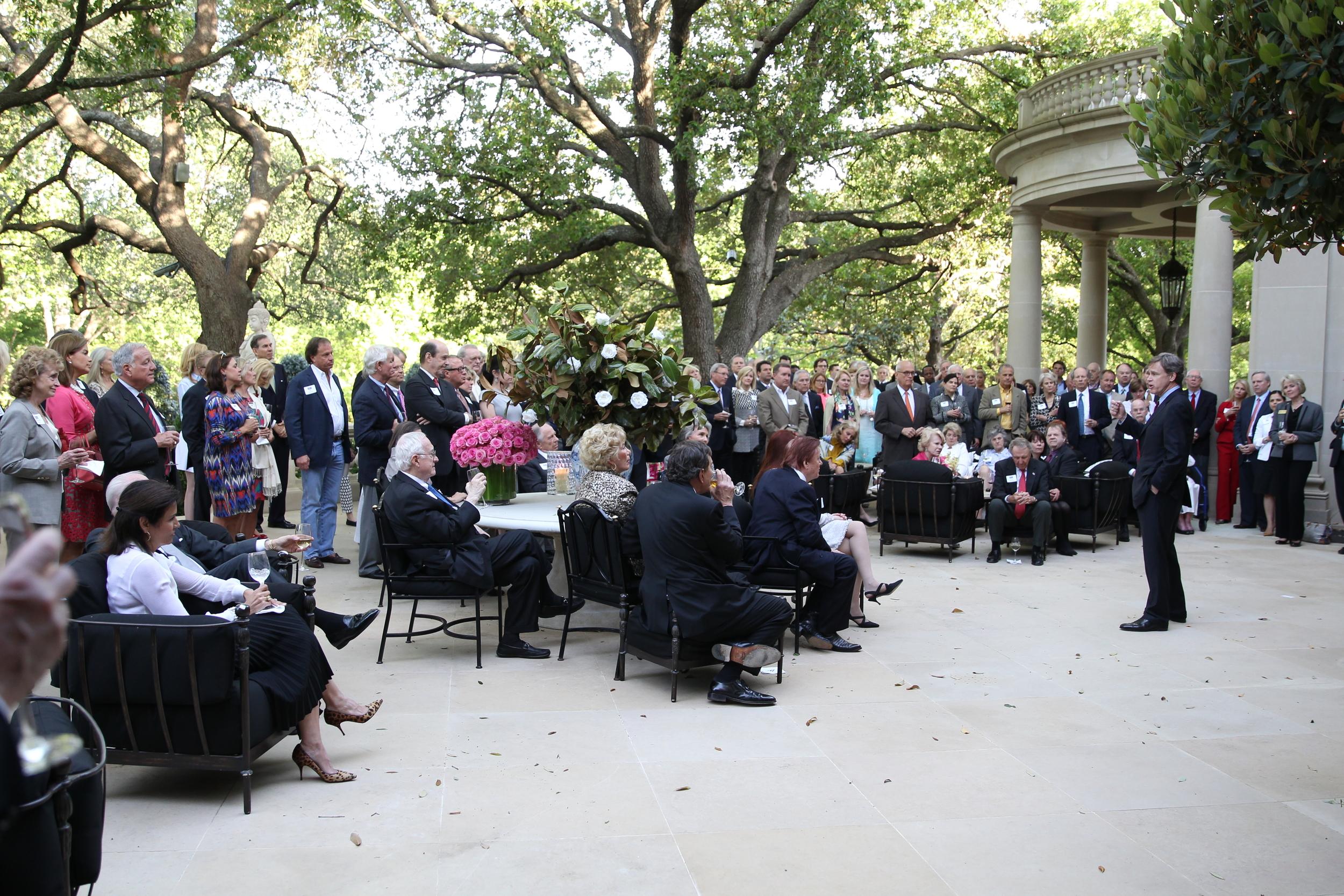 State Representative Dan Branch at a fundraiser in Dallas in April 2014.