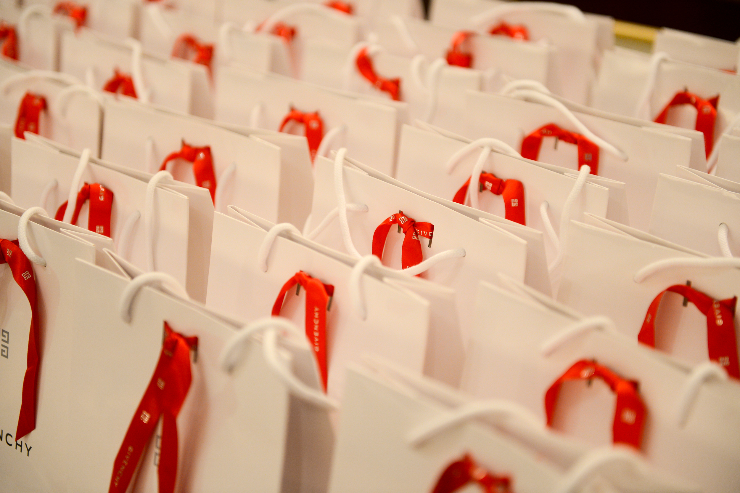 Departing event favors for guests at the 2014 Woodrow Wilson Center Awards.