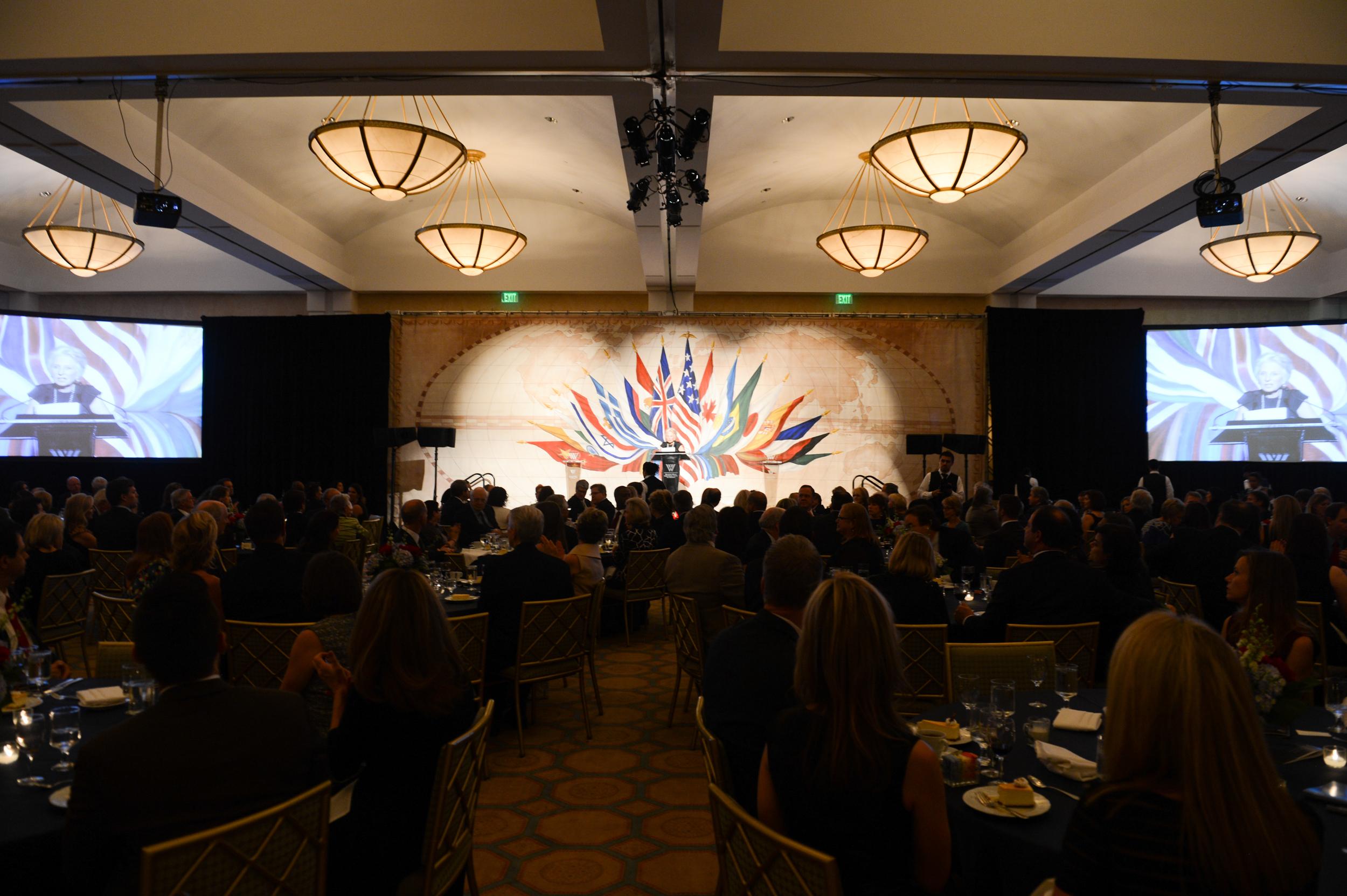 The 2014 Woodrow Wilson Center Awards.
