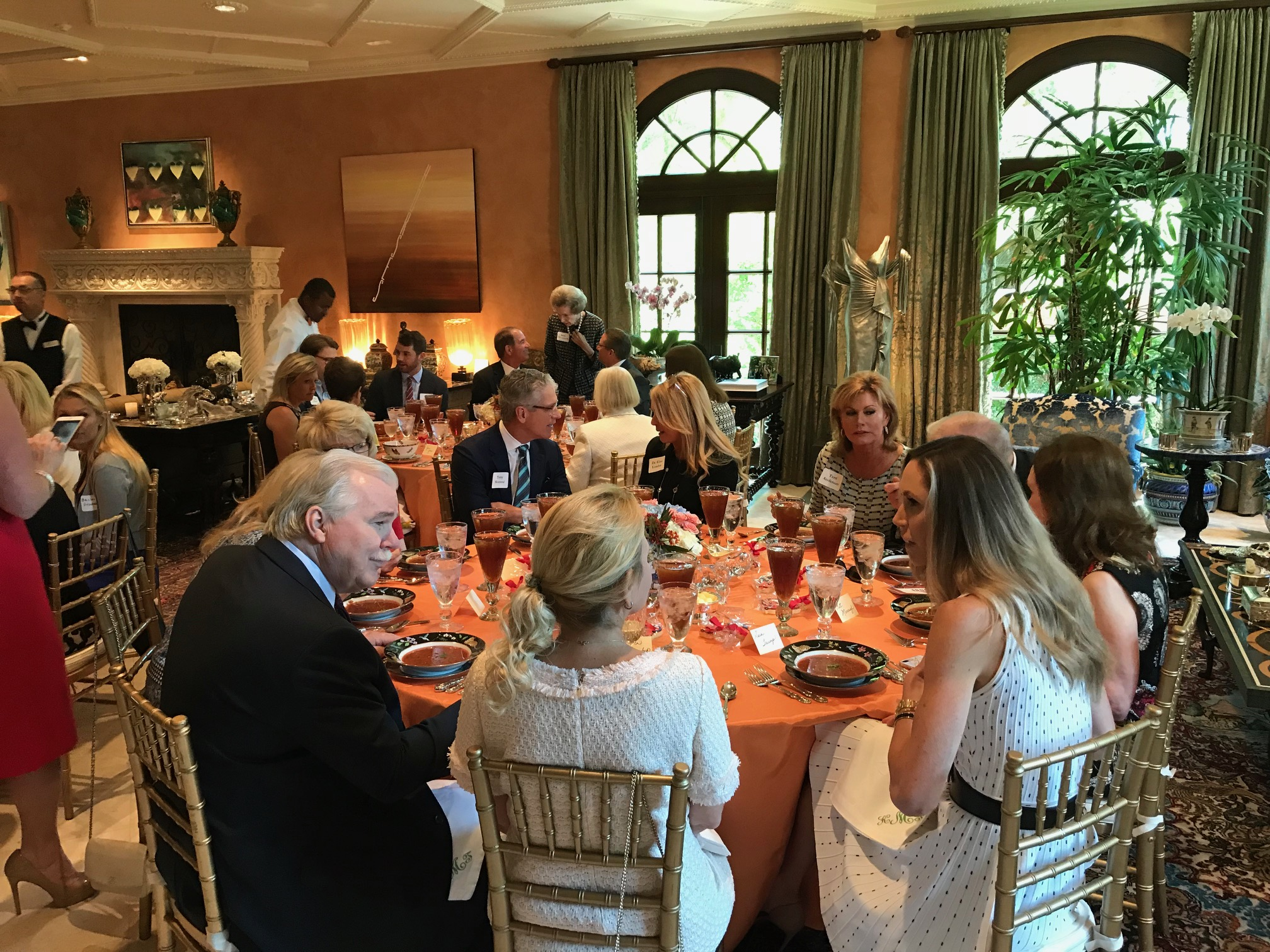 Trump Victory luncheon in Fort Worth with Lara Trump in 2018.