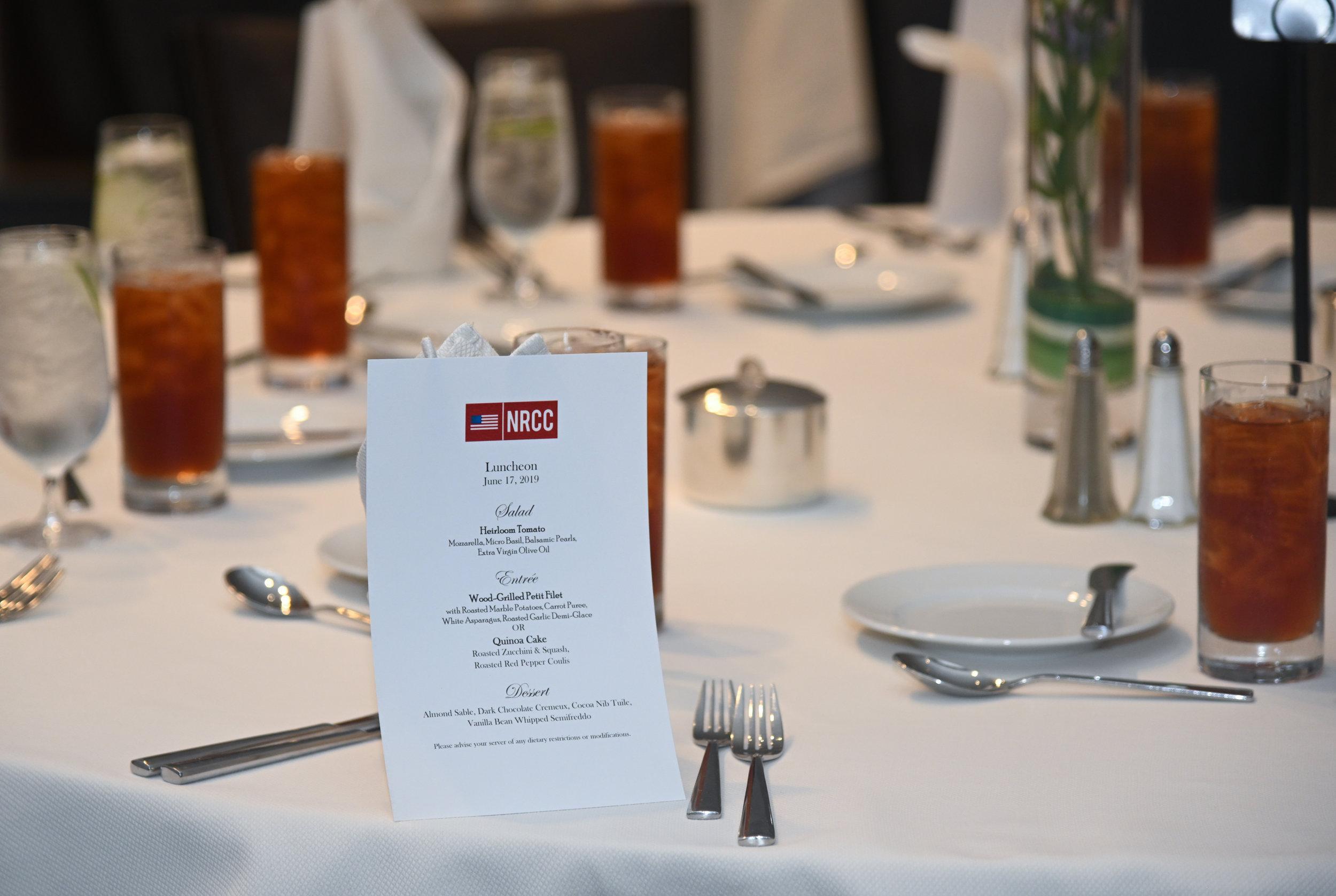 NRCC luncheon at the Ritz Carlton in Dallas in 2019.