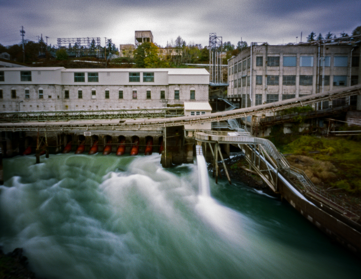 PAPER - This is the documentation of the 130-year-old mill, West Linn Paper Mill, during the 2 year of closure and the transition back into production as the Willamette Falls Paper Co.from 2017-2019
