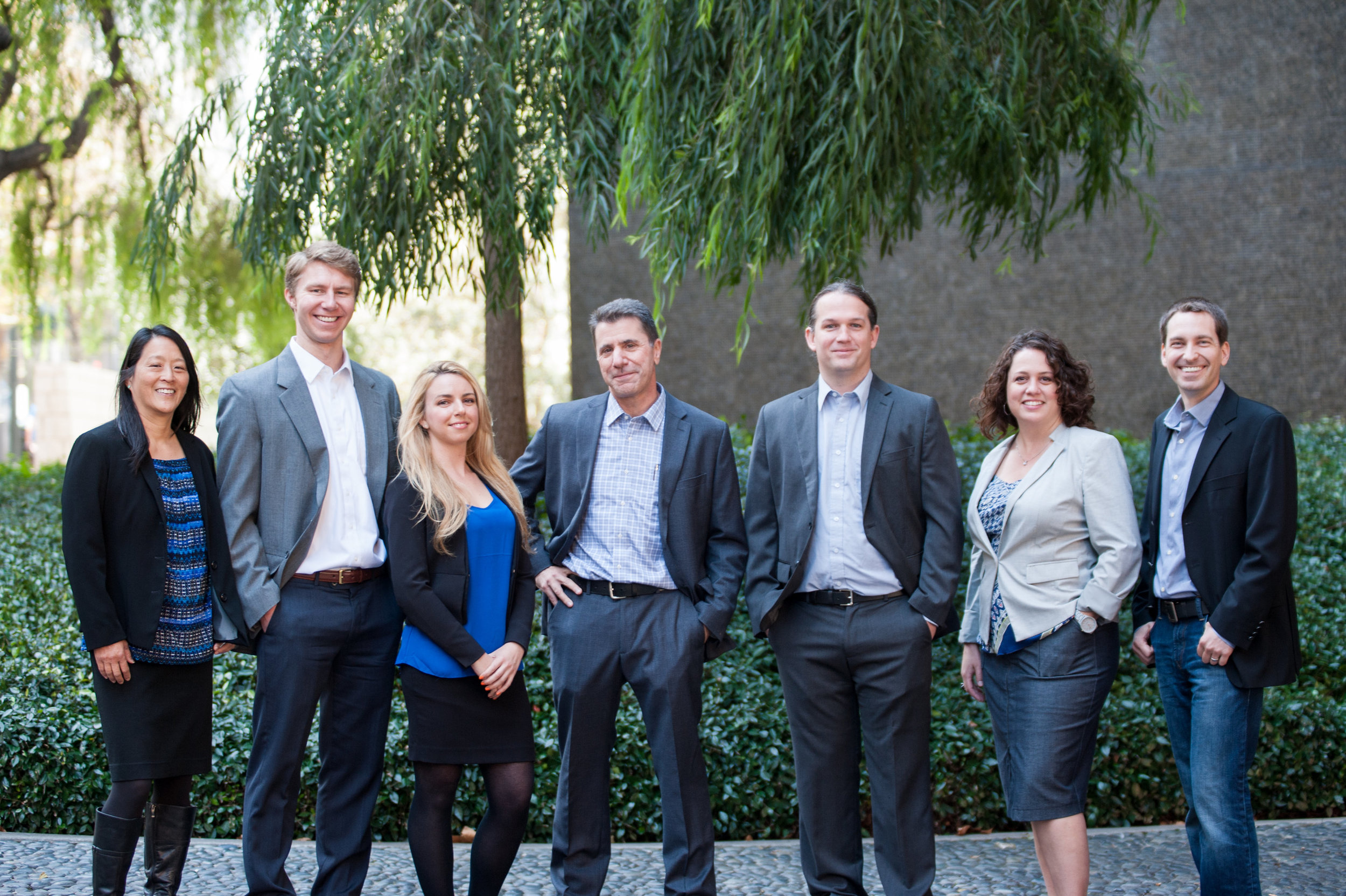 Corporate office team portraits in Portland