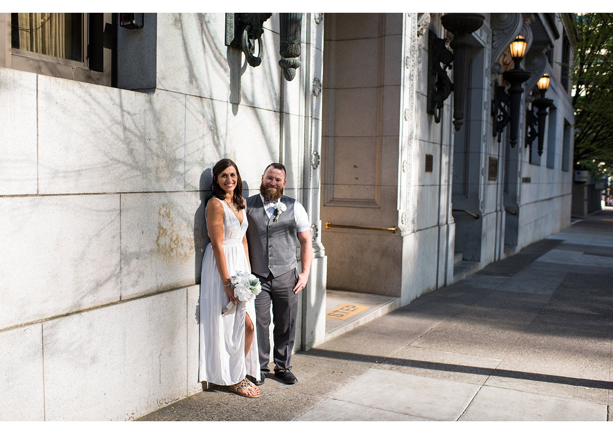 Portland Courthouse Wedding