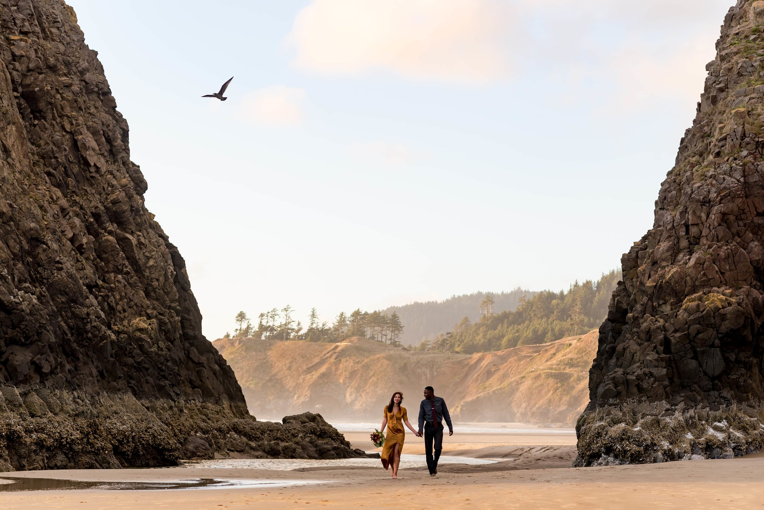Cannon Beach Elopement