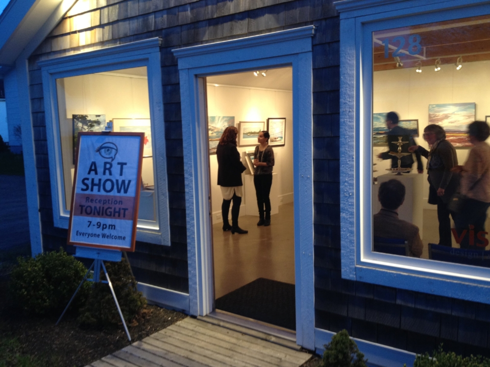 I'm now being represented by Visual Voice Fine Art. Visit them on 128 King St, Truro, NS