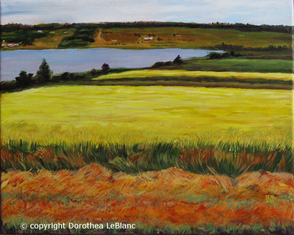 Flax Fields of PEI - NA