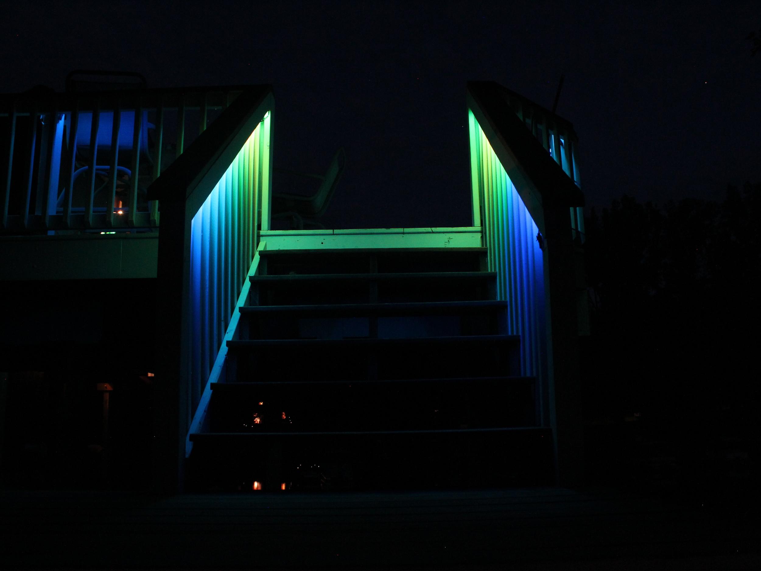West Branch Deck Lighting
