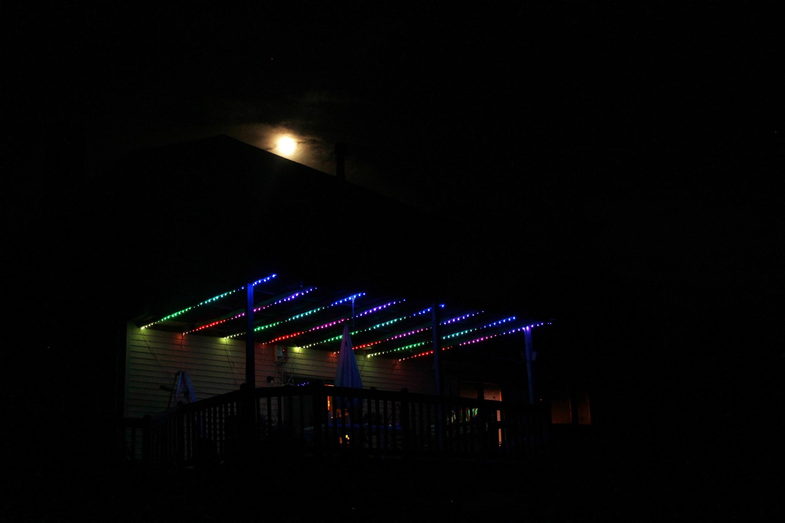 South Lyon Deck Lighting
