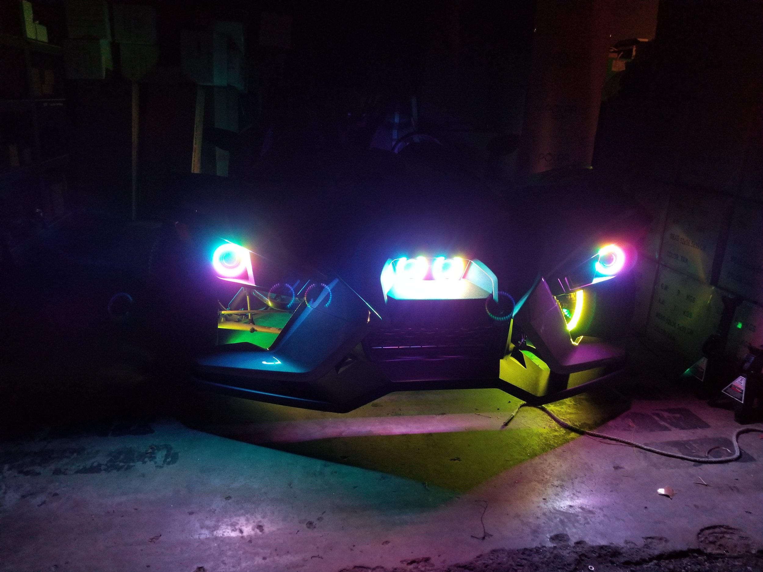 Slingshot Lighting