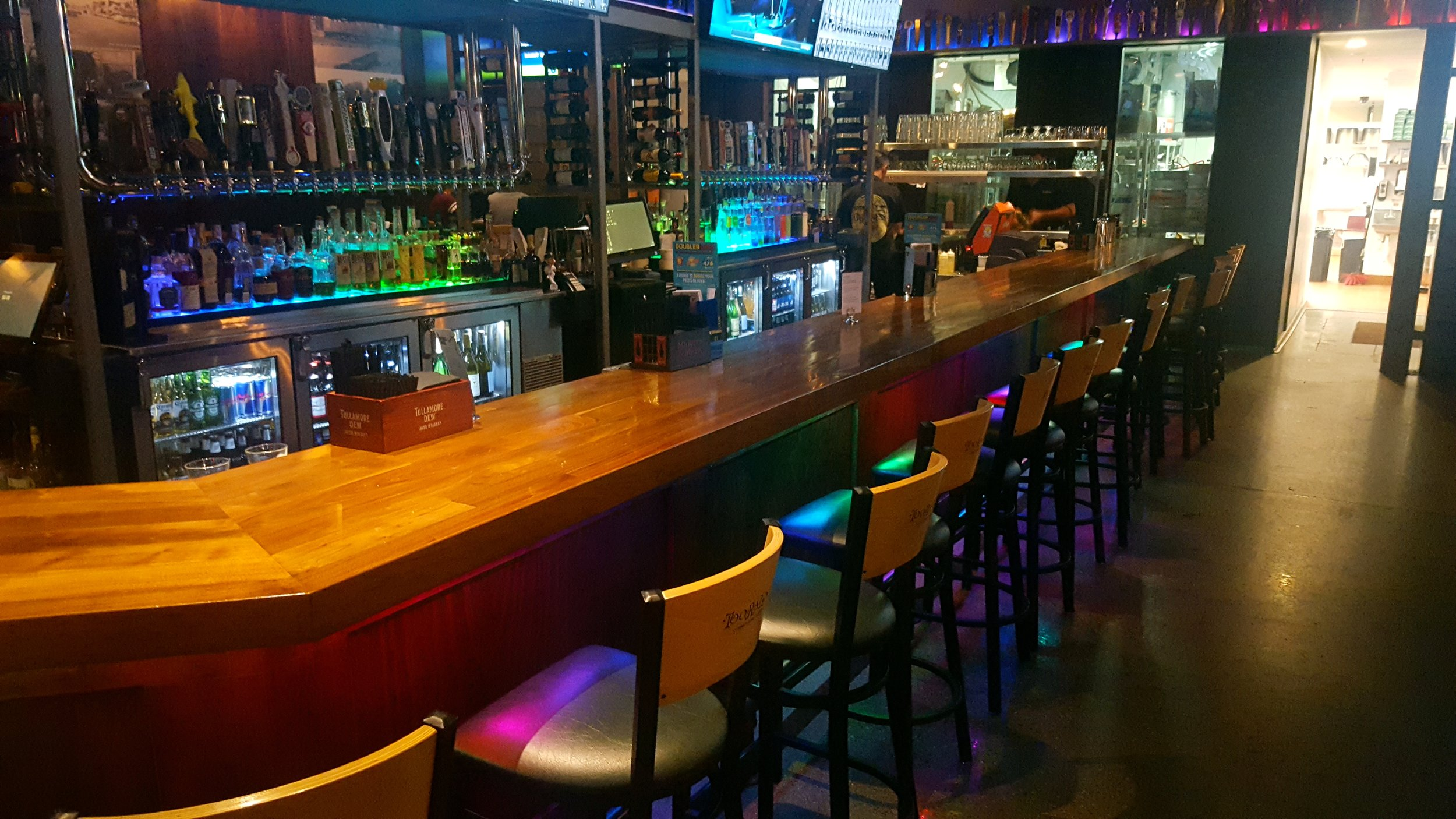 TooRaLoo Bar Lighting