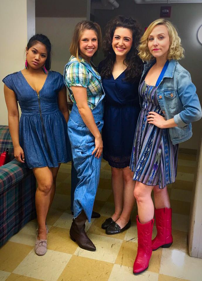 "The ""Pretty Little Liars"" of Bomont - (L-R) Shea Renne (Urleen), Katie Bates (Rusty), Michaela Bolt (Wendy Jo), and Liz Schmitz (Ariel)"