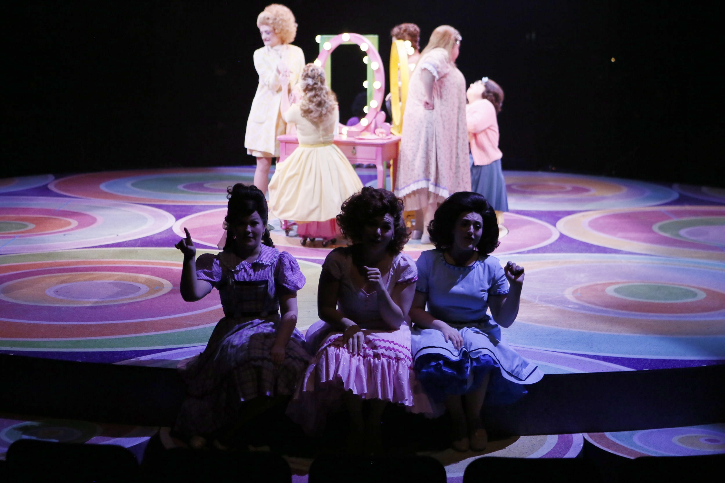 """Michaela as """"Shelly/Ensemble"""" in HAIRSPRAY @ NORTH SHORE MUSIC THEATRE (2018). Photos by Paul Lyden, courtesy of NSMT."""