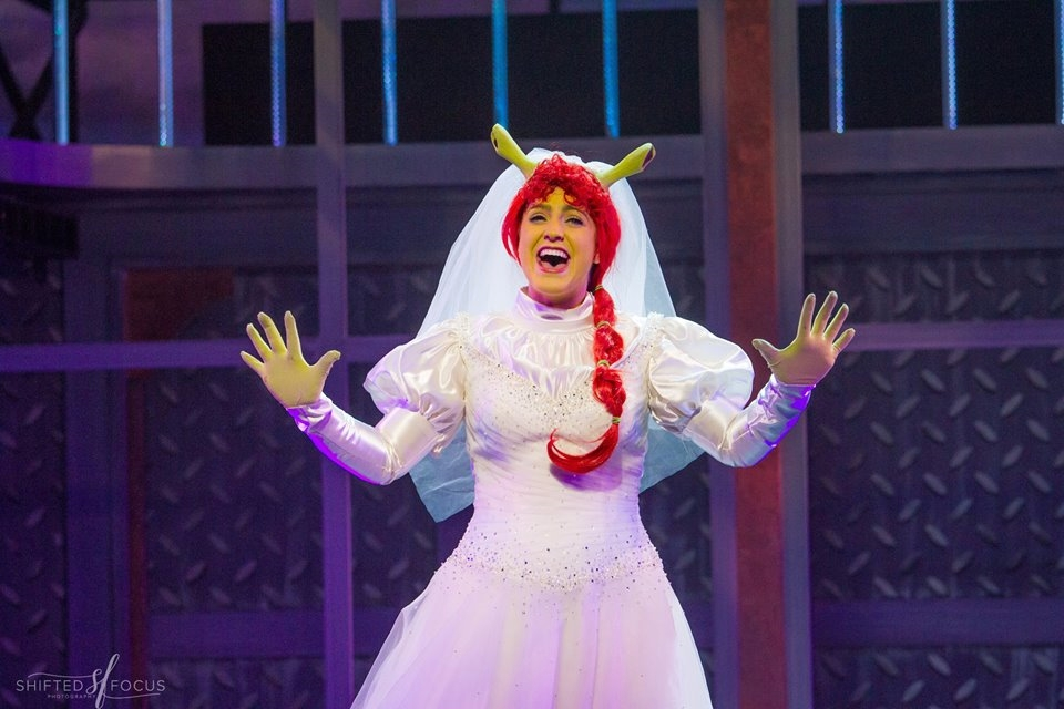 "Michaela as ""Fiona"" in SHREK @ THE FULTON THEATRE (2016). Photos by Shifted Focus, courtesy of The Fulton."