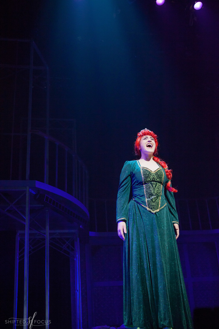 """Michaela as """"Fiona"""" in SHREK @ THE FULTON THEATRE (2016). Photos by Shifted Focus, courtesy of The Fulton."""