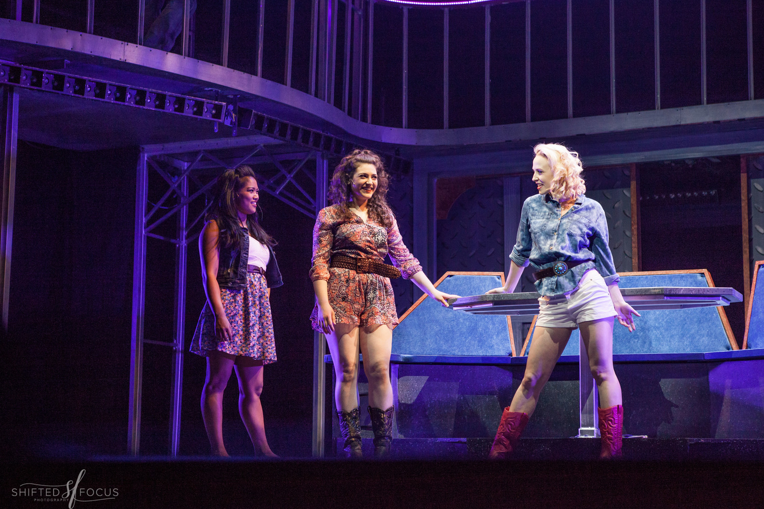 """Michaela as """"Wendy Jo"""" in FOOTLOOSE @ THE FULTON THEATRE (2016). Photos by Shifted Focus, courtesy of The Fulton."""