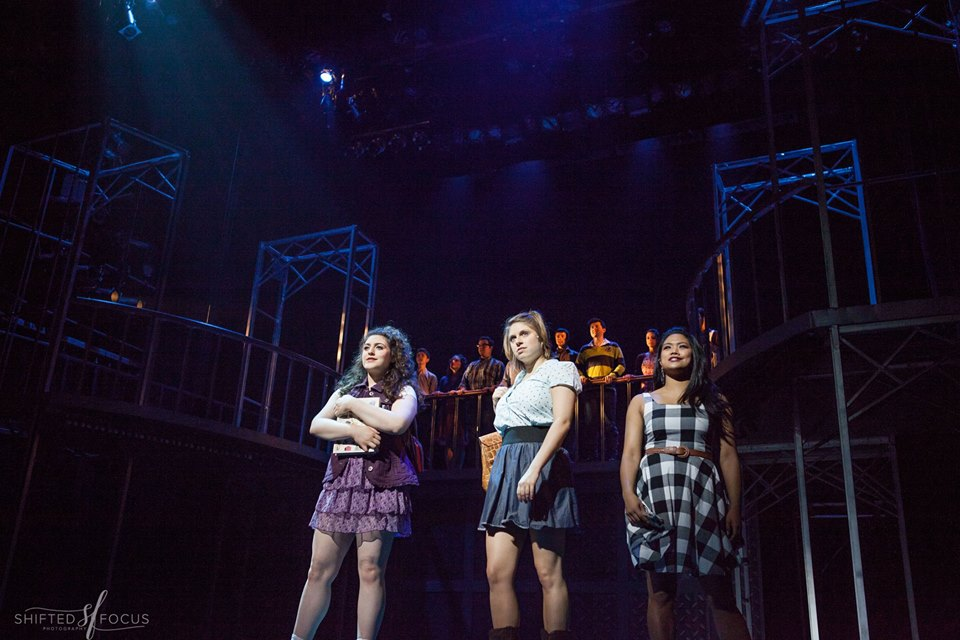 "Michaela as ""Wendy Jo"" in FOOTLOOSE @ THE FULTON THEATRE (2016). Photos by Shifted Focus, courtesy of The Fulton."