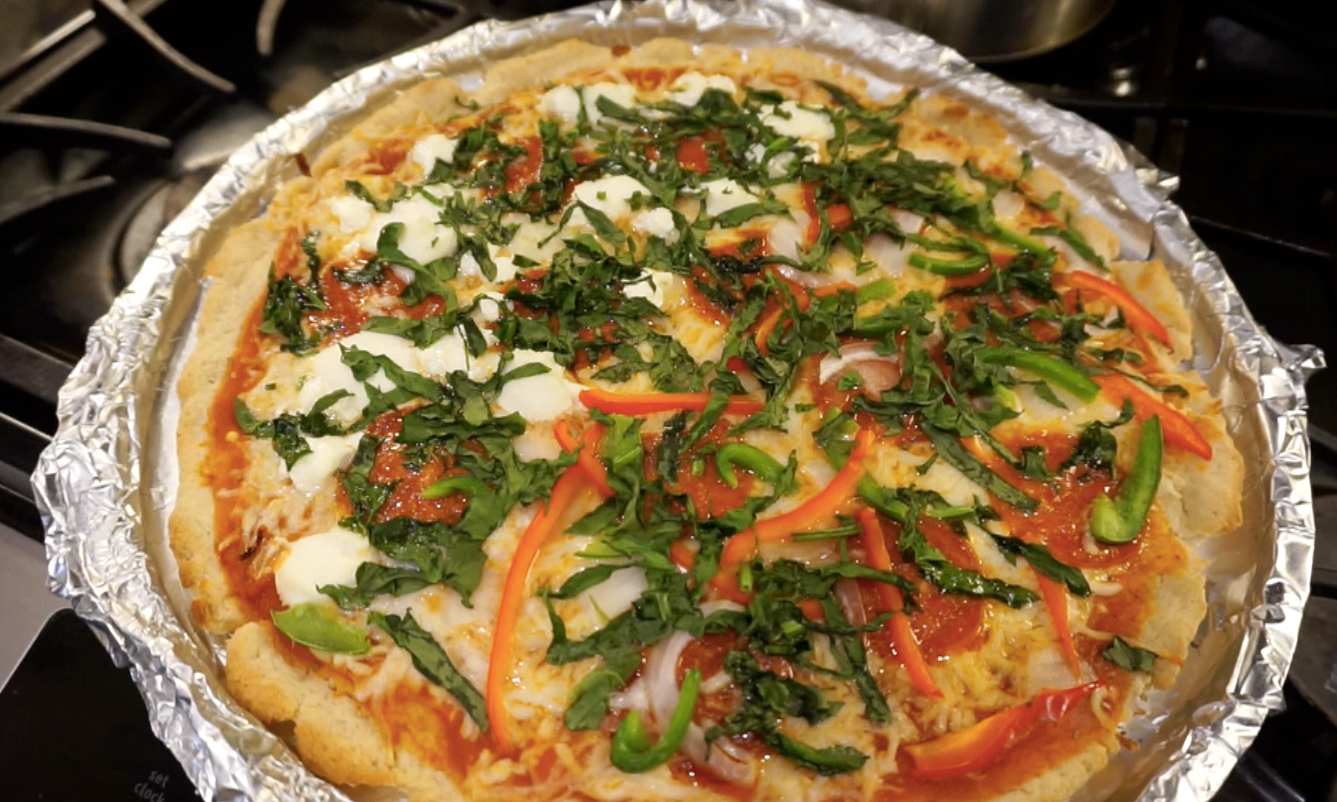 Finished Gluten Free Pizza