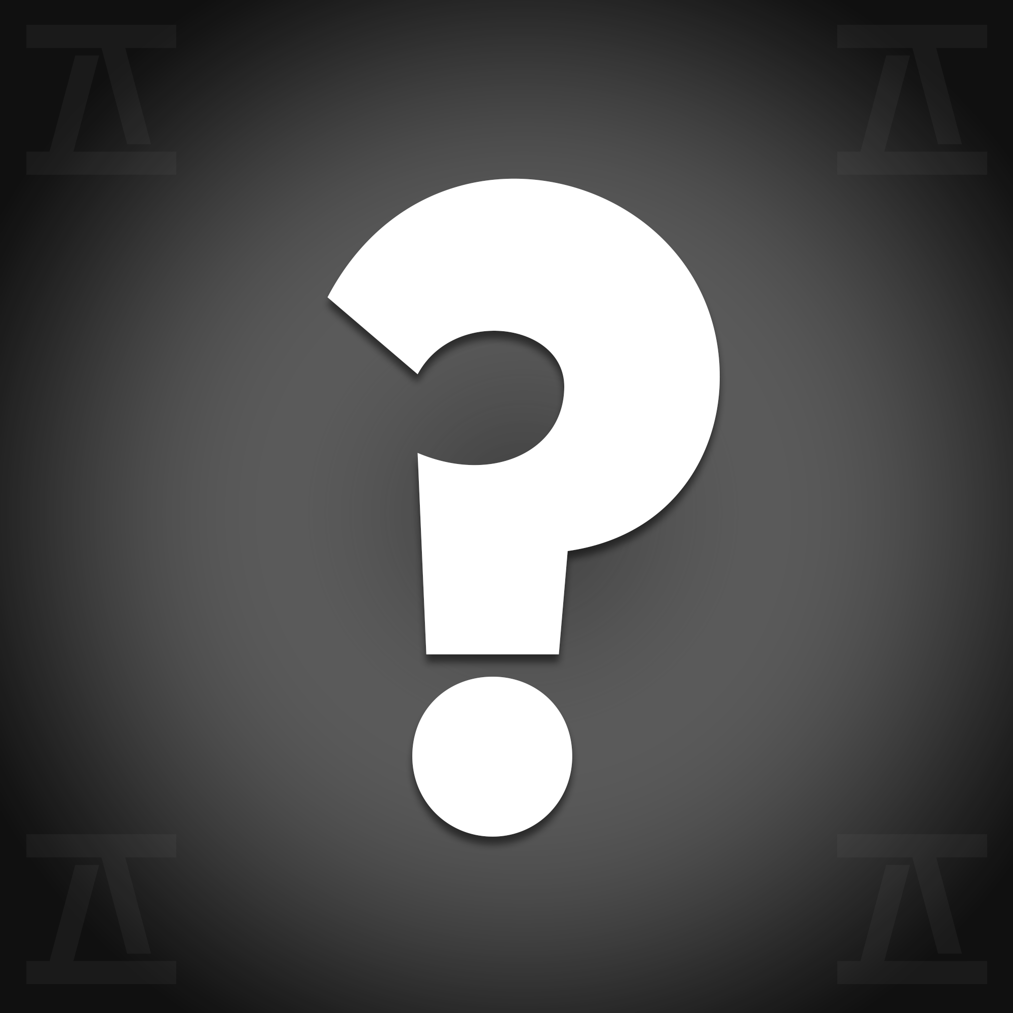 WE ENCOURAGE YOU TO ASK QUESTIONS! -