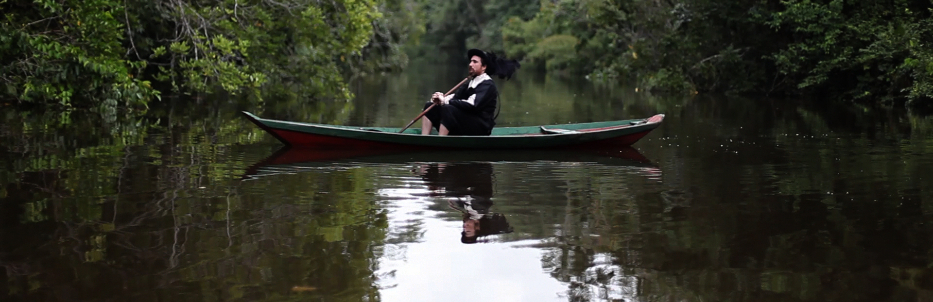 'Remapping the New World'    JOURNEY TO A LAND OTHERWISE UNKNOWN / VOYAGE EN LA TERRE AUTREMENT DITE  (Laura Huertas Millán, Colombia/France, 2011, 22 min. In French with English subtitles. New York Premiere)  NEFANDUS  (Carlos Motta, U.S./Colombia, 2013, 13 min. In Spanish and Kogi with English subtitles. New York Premiere)  EX ISTO / EX IT  (Cao Guimarães, Brazil, 2010, 86 min. In Portuguese, with English subtitles)  Three visual artists reconsider the 'New World,' providing provocative alternative cartographies. Laura Huertas Millán's  Journey to a Land Otherwise Know —shot at a tropical greenhouse in Lille, France—uses textual accounts by European colonizers to create a fake ethnography of the New World critical of the ever-prevailing exoticism. In Carlos Motta's visual essay  Nefandus , an indigenous man and a Spanish-speaking man tell stories about acts of sodomy that took place in the Americas during the conquest, while Carlos Guimarães Ex Isto  presents a historical provocation imaging French philosopher René Descartes on a tropical journey in Brazil. Followed by a discussion with director Carlos Motta.    Friday, August 8, 1pm