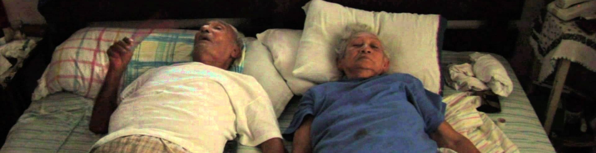 Un día menos (One Day Less). 2009. Mexico. Directed by Dariela Ludlow. In the home they built in Acapulco, Carmen and Emetrio, an elderly couple in their 80s and 90s, live from day to day in anticipation of the next visit from their extended family. This intimate story captures their resilience and frailty, and the meaning of existence near the end of life. Ludlow's first feature documentary, shot with beautiful cinematography, poignantly captures the love and tensions of a couple as well as the solitary struggles they must face. 76 min. New York premiere. Introductions and discussions with Ludlow. Wednesday, February 23, 4:30pm; Thursday, February 24, 8pm