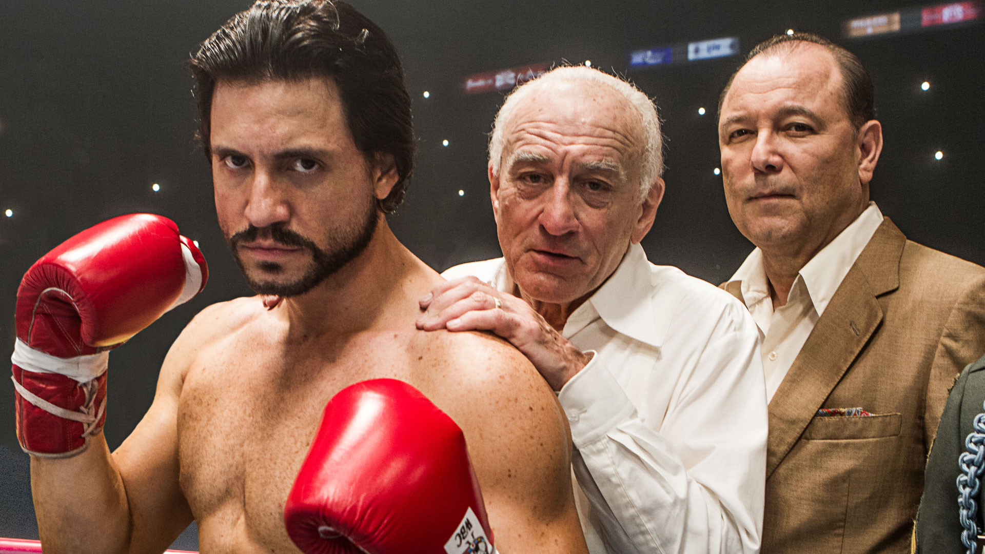 2. HANDS OF STONE  The Weinstein Company  The boxing drama biopic about Panamanian boxer Roberto Durán, directed by Venezuelan filmmaker Jonathan Jakubowicz and starring Edgar Ramírez, Robert De Niro, and Ruben Blades, earned $4.7 million.