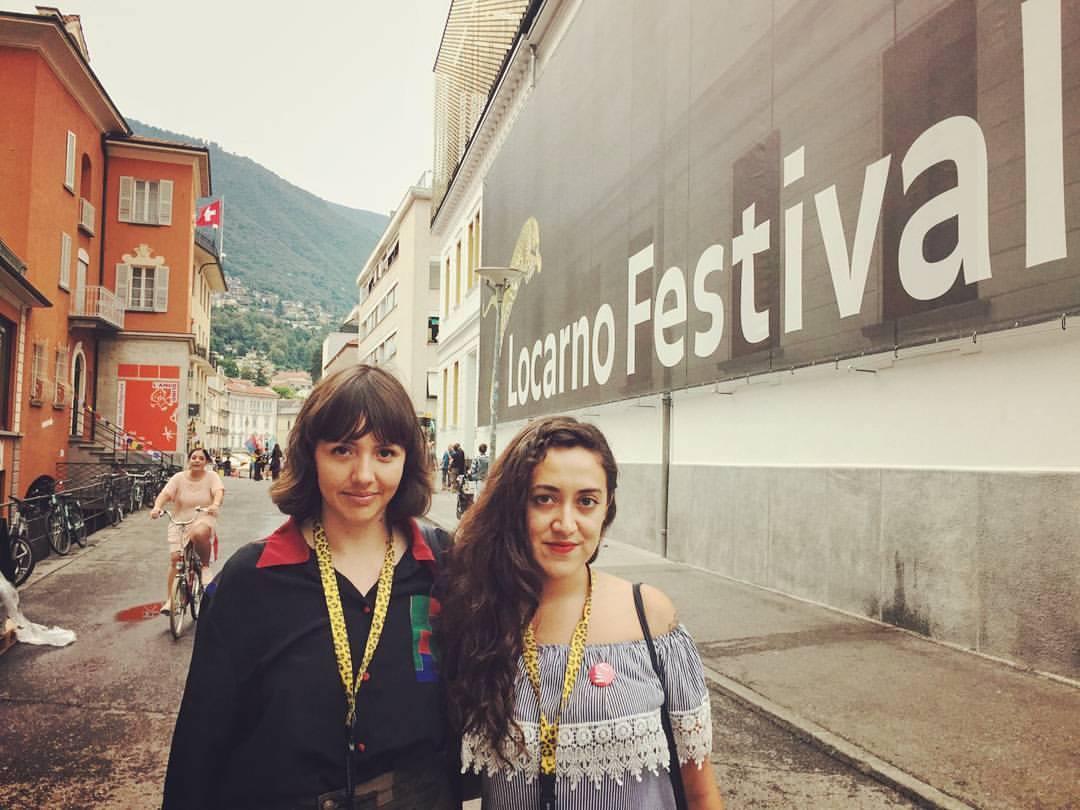 Filmmakers Betzabé García and Camila José Donoso. Photo by Alana Mejías.