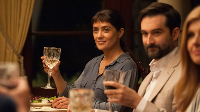 4. BEATRIZ AT DINNER  Roadside Attractions  Another movie starring Salma Hayek made it to the top ten Latino films in the U.S. this year. The comedy by Puerto Rican director Miguel Arteta, which premiered at Sundance, made $7.1 million in ticket sales.
