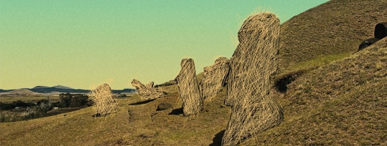 SOLITARY LAND   ( Tierra sola , Tiziana Panizza, Chile, 2017, 107 min. In Spanish, Rapa Nui, and English with English subtitles. U.S. Premiere)  Buy Tickets   Easter Island (Rapa Nui) has long been a grand mystery of archeology—how did such a large civilization fall, and does it foreshadow our own ruin? For the indigenous people who currently live there, the island's past carries a very different legacy: one of colonial abuse and inescapable remoteness. Panizza's film shows the legacy of this exploitation, as well as the daily rhythms of the small prison on the island, in a film constructed from pieces of 32 documentaries (many of which include similar voiceovers and framing, despite being shot by crews from different countries) and original present-day footage. Winner of Best Chilean Film at the Valdivia Film Festival.   Thursday, March 1, 9pm