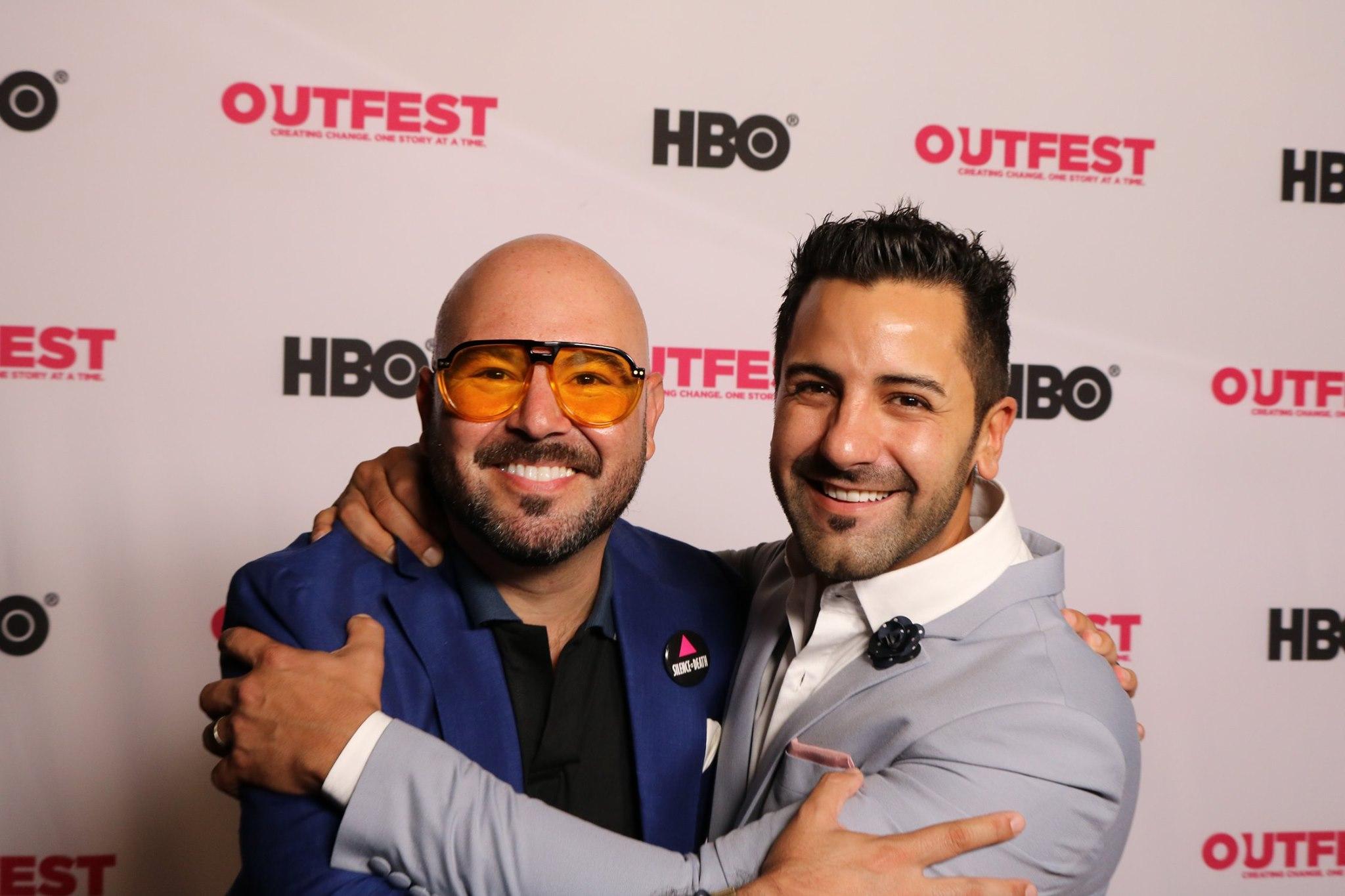 Bolivian director Rodrigo Bellott and producer Carlos Rocabado