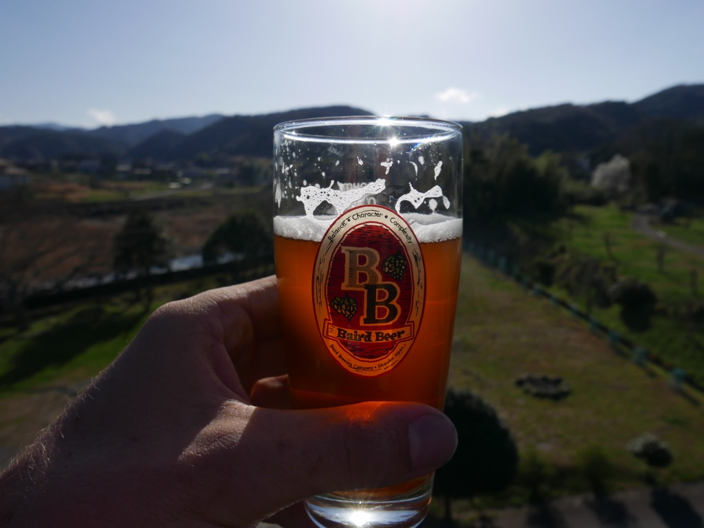 Baird Garden brewery in Shuzenji with a great motto to live by Balance-Character-Complexity