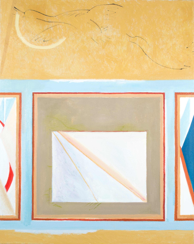"""- Leyla Rzayeva""""Flight""""2019Oil on Canvas24 x 30 in / 60 x 76 cm"""