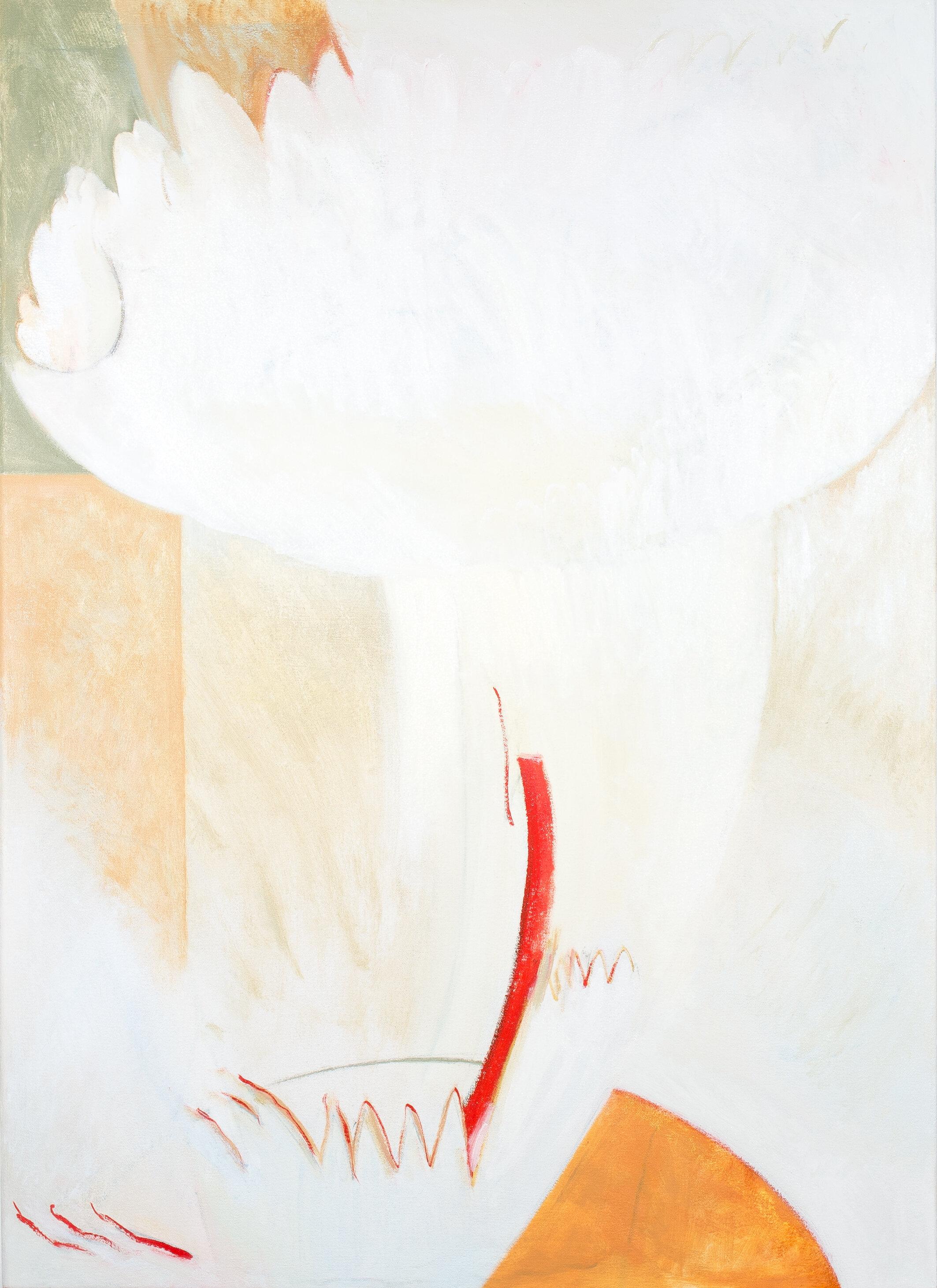 "- Leyla Rzayeva""Planet""2019Oil on Canvas26 X 36 in / 66 x 90 cm"
