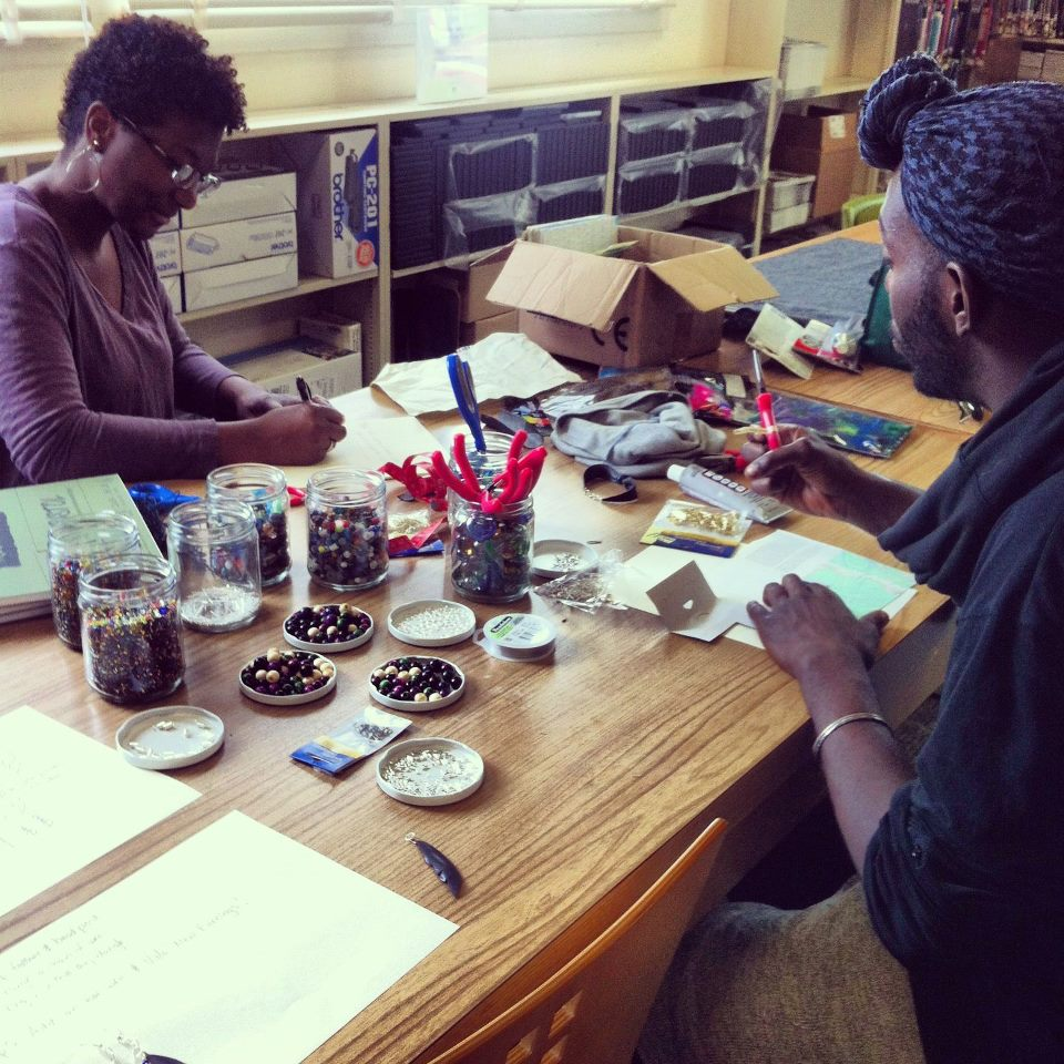 Community crafting class as offered by RPSC, Oakland.