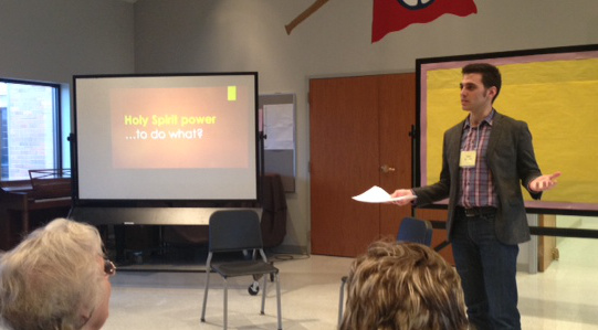 """Click for video slideshow of """"The Power of Listening"""" workshop"""