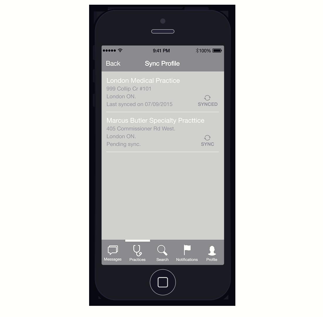 Mobile App Flow- Step 7