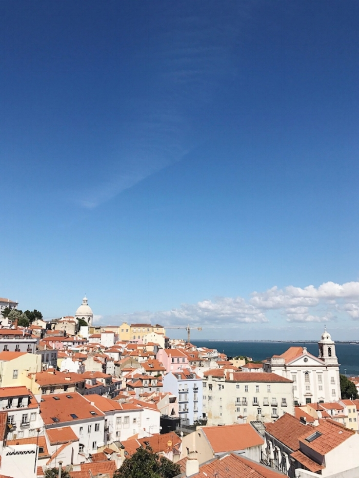 The view of Alfama from Castelo Sao Jorge