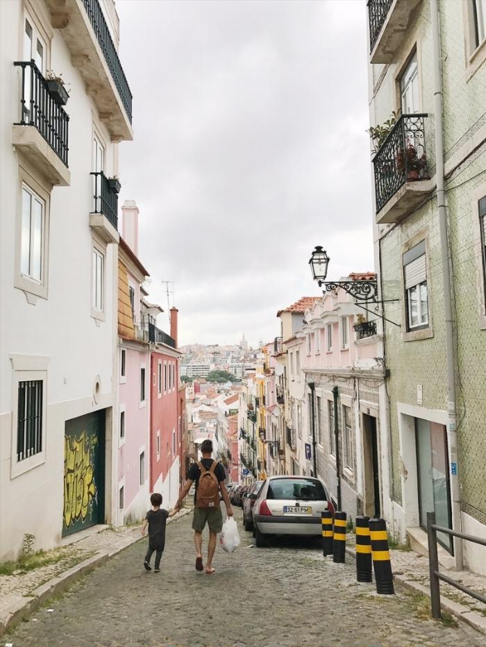 Our street in Santa Catarina