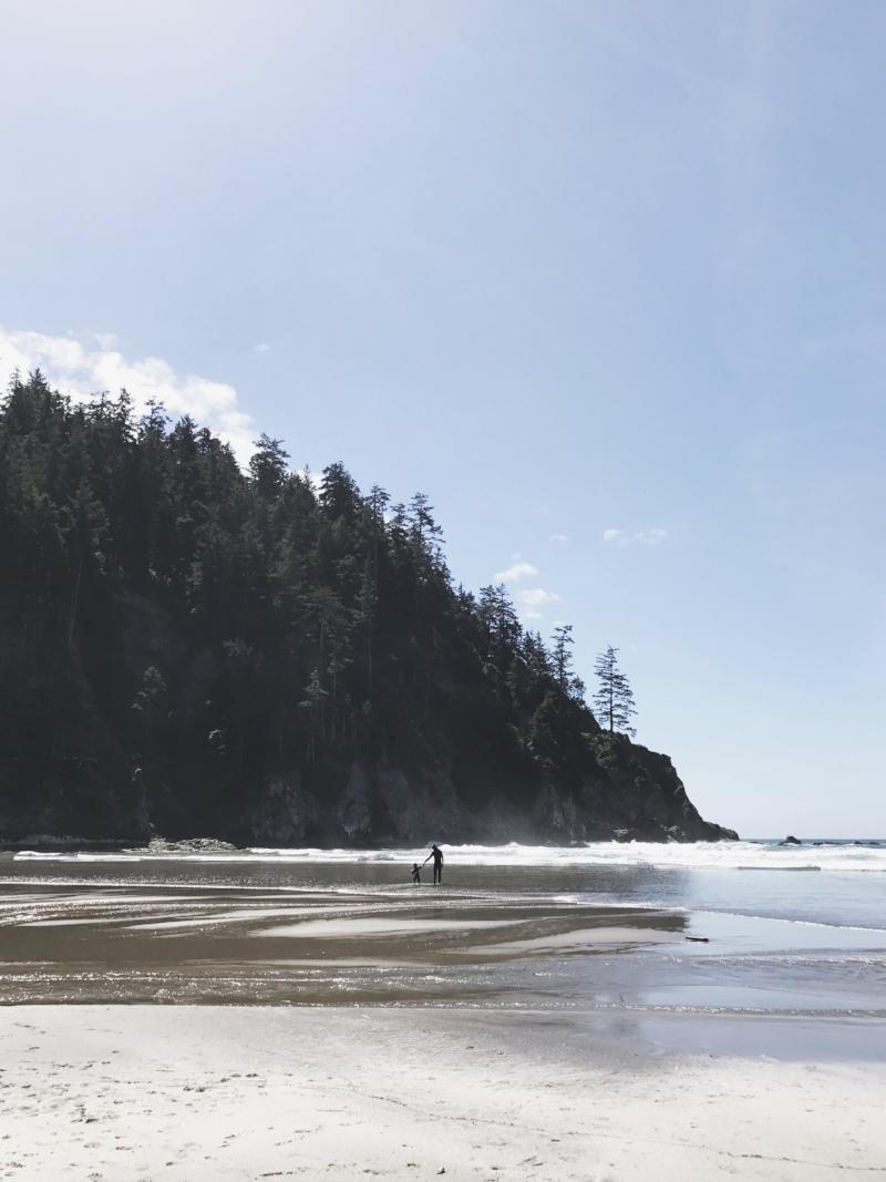 Short Sands Beach, where Trevor got in a day of surfing